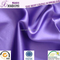 polyester satin Full Dull Stretch Poly Satin fabric