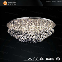 modern china manufacturer good quality crystal ceiling lamp for hotel/project OM9245