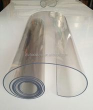 super transparent clear soft pvc plastic sheets roll ,flexible pvc sheet for table cover