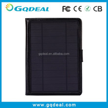 Wholesale Alibaba 6600mah Leather Solar Charger Case For Ipad Mini
