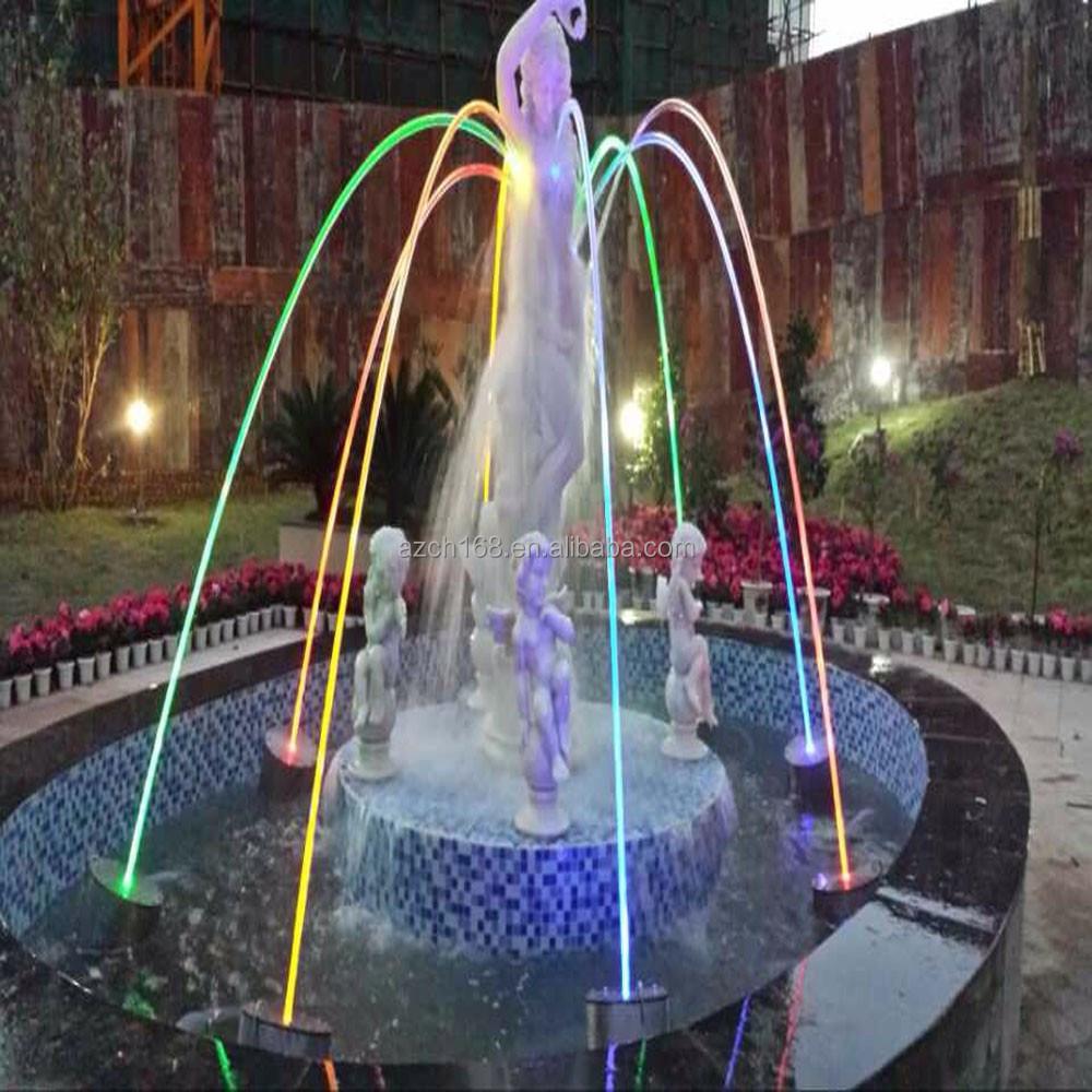 Moderne art d corer int rieure jet d 39 eau d 39 ange de for Fontaine a eau decoration interieure