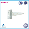 """6"""" ZINC PLATED galvanized heavy duty tee hinge for gate"""