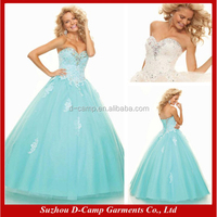 OC-1199 Lady girls puffy dress for halloween indian style evening dresses whole sale