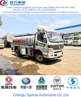3000 liter fuel bowser, 4000 liter fuel oil tanker, 5000 liter fuel tanker truck
