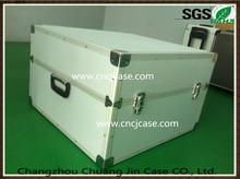 Silver aluminum instrument case aluminum equipment box