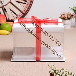 Customized new style wedding cake gift box for shipping