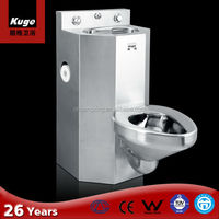 Wholesale China Stainless Steel 304 Dual High Volume Flush Toilet