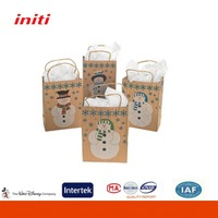 2016 INITI Factory Recyclable quality thin paper bags packaging