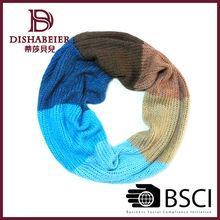 2014 High quality fashion style winter warm knitted scarf