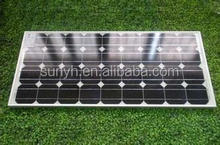 China best price high efficency power solar panel 100w