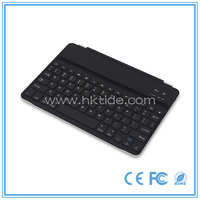 Gtide new model slim aluminum bluetooth keyboard coach case for ipad air