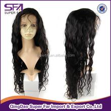 Top quality cheap stop brazilian hair full lace wigs, full lace wig brazilian remy with bangs