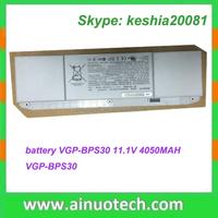 VGP-BPS30 11.1V 4050MAH laptop battery for SNY VGP - BPL18 VPC - W115 SERIES 10.8V 4400mAh notebook lithium battery SYBS18LH