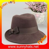 100% wool felt hat capeline with high quality for unisex