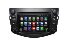 7'' HD1080P Android 4.4.4 OS Car audio radio with dvd, gps navi for Toyota RAV4 Supports SWC,RDS,OBD,Mirror Link, AUX IN