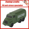 Polyurethane memory foam military vehicles anti stress toys