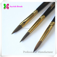 Professional animal hair brush hand made wood pen