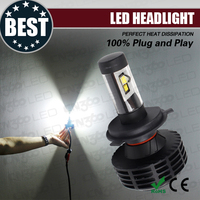 Plug N Play 3000lm Led Motorcycle Led Light kit