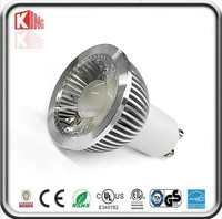 High quality CE ROHS Epistar Isolated driver 80lm/w 3W led gu10