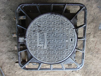 Ductile cast iron Manhole Cover EN124 850x850x75 C250