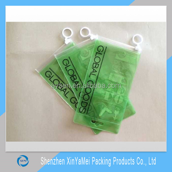 Beautiful Hot Sale clear pvc bikini zipper bag