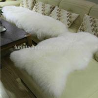Wholesale White Anti-Slip Lamb Fur Rugs