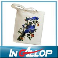 80oz full color custom printed canvas tote bag