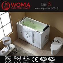 Q377 square walk in bathtub for disabled
