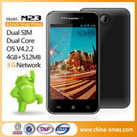 China 4 inch GPS mtk6572 dual core china smartphone android
