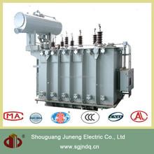 Three phase copper winding wound core low loss 35kv 6mva power transformer