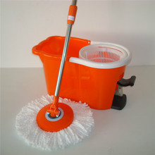 acero poste de y giratoria cabeza de la fregona tipo 100% nuevo PP 4 unidades doble cubo de limpieza de suelos Spinning fregona