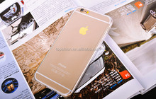 Wholesale for iphone 6s crystal clear tpu back cover shell case ultra slim 0.3mm case