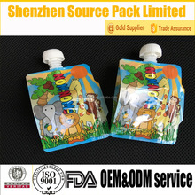 Animal Kids Food Pouch Kids Food Spoons Pouch