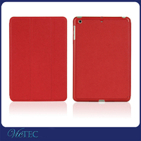Shenzhen mobile accessories 8 inch PC + PU leather tablet case for ipad mini 2
