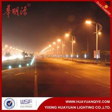 8m galvanized steel street lighting poles and lamp posts