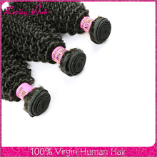 Peruvian human hair natural hair extension tangle free no sheeding natural kinky curly peruvian hair