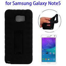 Protective Kickstand Case for Samsung Galaxy Note 5 Silicone Case