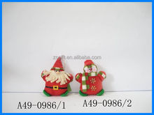 Guangdong Factory supply Christmas Fabric Crafts To Sell popular design