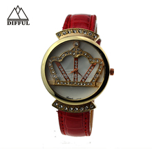 New products 2014 High Quality business leather watch for women fashion jewelry vogue watch