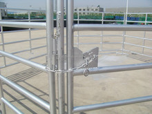 welded galvanized pipe horse fence panel/hinge joint farm mesh rolls,horse,sheep,cattle fence