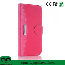 new china products magnet pu leather flip cover case for smartphone