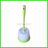 Household toilet bowl cleaning brush holder set