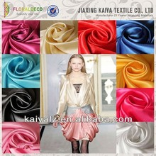 220gsm versatile silk blending new colorful jersey fabric satin