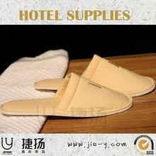 high quality ensured hotel amenity products china bedroom slipper anti-slip bath slipper