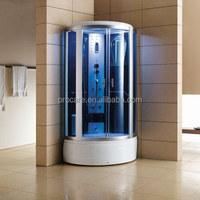 Corner Standing steam shower room/enclosed steam shower room/portable steam room