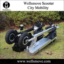 2015 Wellsmove Cheap water scooter electric with speed meter Led Light