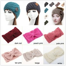 2015 fashion style crochet headband elastic hair band for girls