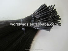 ZFY sale stick pre bonded i tip natural color 1g/strand hair extension wholesale price