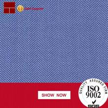 warp polyester/cotton 65/35 pct weft 100% polyester herringbone twill fabric