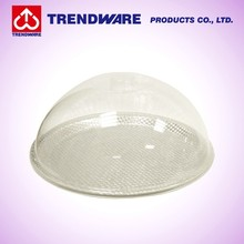 Poly Material Clear Dome Food Plate Cover